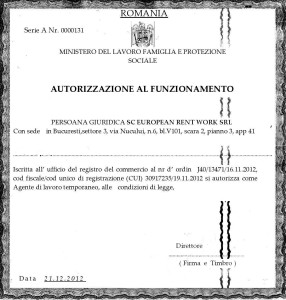 autorizatieITALIANA